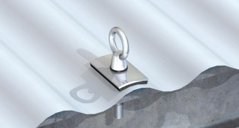 Fall Protection System & Anchor Point Installation