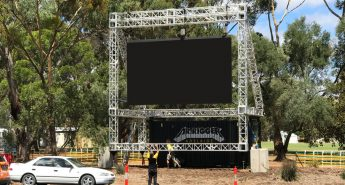 Container Big Screen system