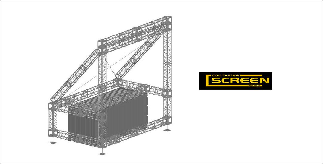Container Screen System | Rigging Australia