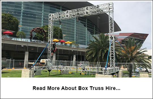 Box Truss Hire | Riggers Australia