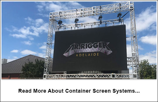 Container Screen Systems | Rigging Australia